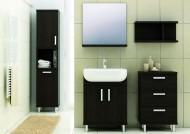 Stojące szafki do łazienki. Fot. Aquaform