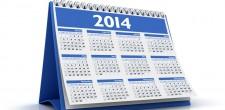 Dni wolne za święta wypadające w sobotę w 2014 roku